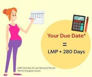 dating pregnancy using lmp