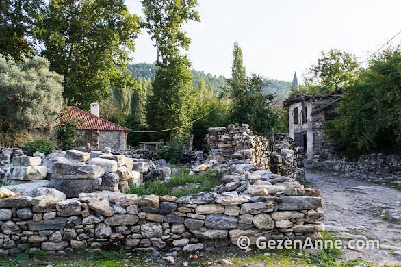 Stratonikeia ve Eskihisar köyü, Yatağan Muğla