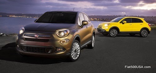 Fiat 500X Lounge and Trekking