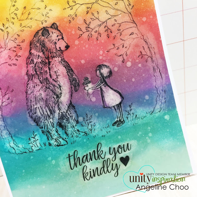 ScrappyScrappy: [NEW VIDEO] Valentine's love cards with Phyllis Harris-Unity Stamp #scrappyscrappy #unitystampco #phyllisharris #valentine #thankyoucard #card #cardmaking #papercraft #stamp #stamping #quicktipvideo #youtube #video #coloring #timholtz #ombre #rainbow #distressink #distress #friendship