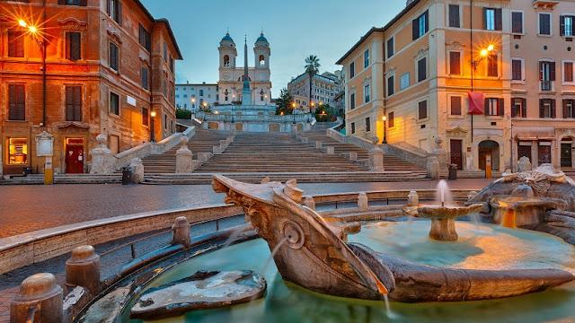 Roteiro pelo sul da Itália em Roma