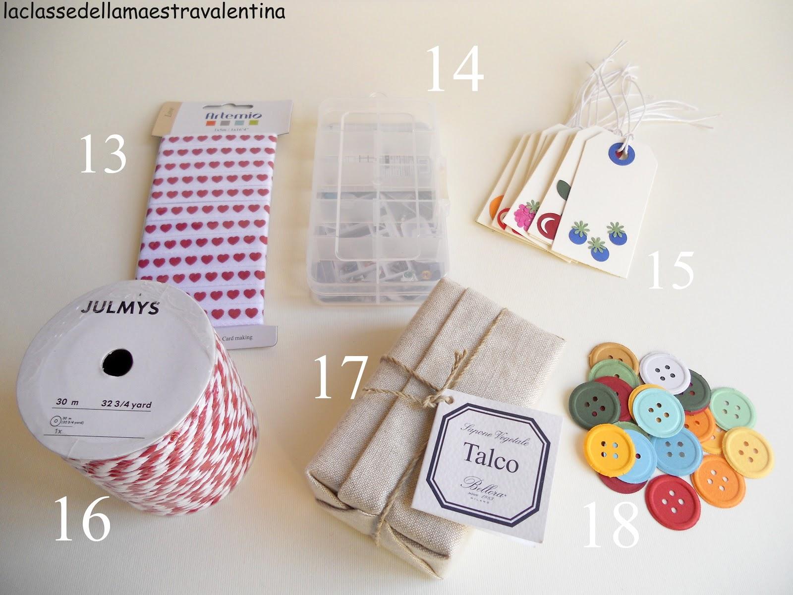 La classe della maestra valentina 24 regalini per la mia - Ikea tappeto bottoni ...