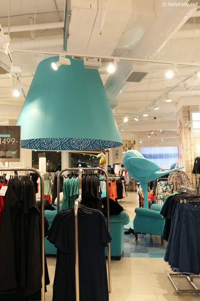 оформление бутика одежды