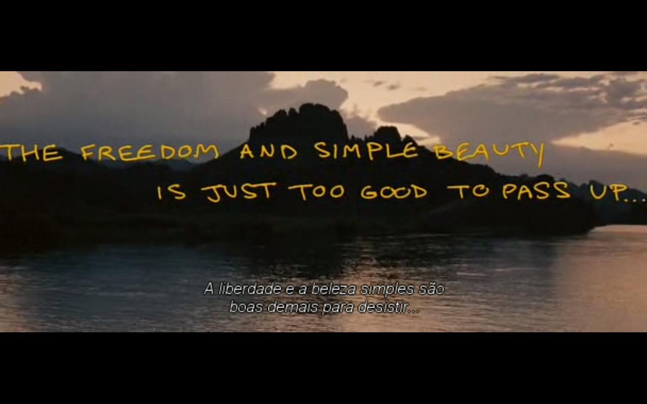 Frases Do Filme Na Natureza Selvagem