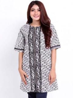 baju batik wanita modern online