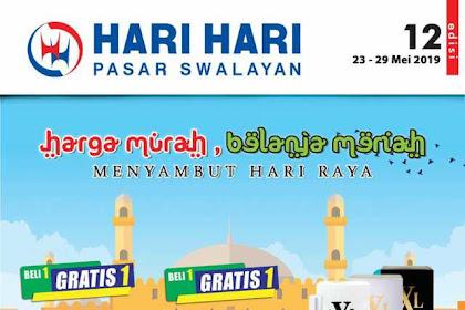 Katalog Hari Hari Pasar Swalayan Promo Terbaru 23 - 29 Mei 2019