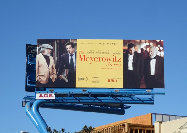 Meyerowitz Stories New Selected movie billboard