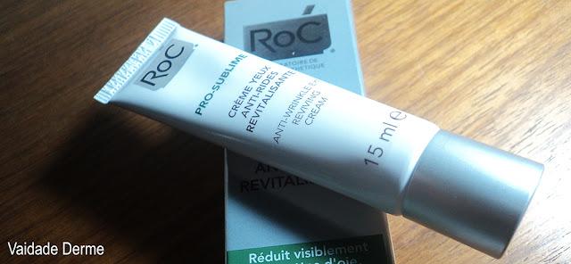 Roc Pro Sublime Olhos Creme Antirrugas