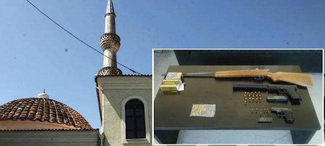 Όπλα σε τέμενος στην Ξάνθη