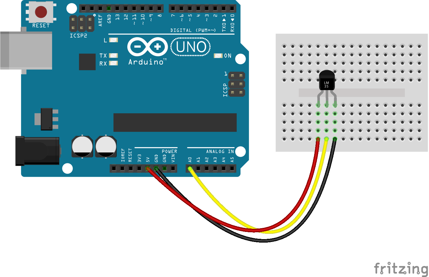 Arduino How To Make Using Atmega328p On A Breadboard With Thermistor And Voltage Divider Circuit Programming The Code