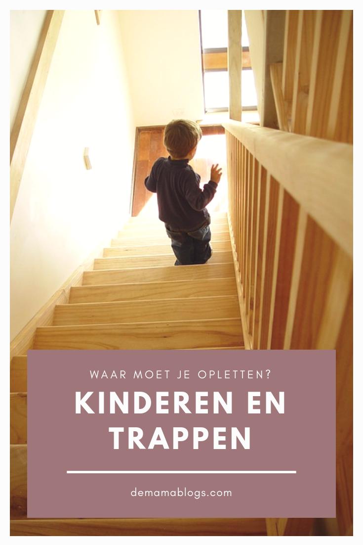 kinderen en traplopen