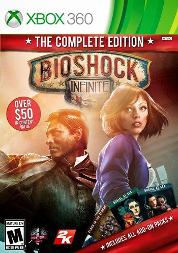 Bioshock Infinite The Complete Edition XBOX 360 Español