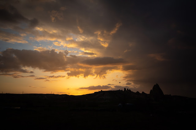 Tramonto da Goreme-Cappadocia