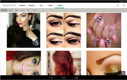 Beautylish makeover dan merias wajah di android