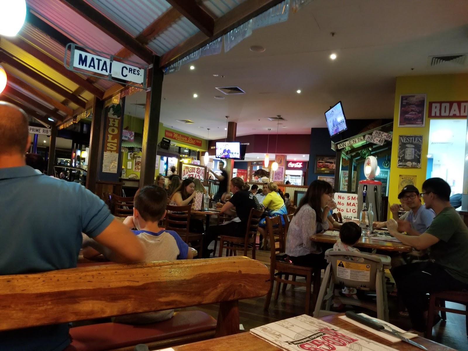 Espresso & Matcha: Hog\'s Breath Cafe - Garden City