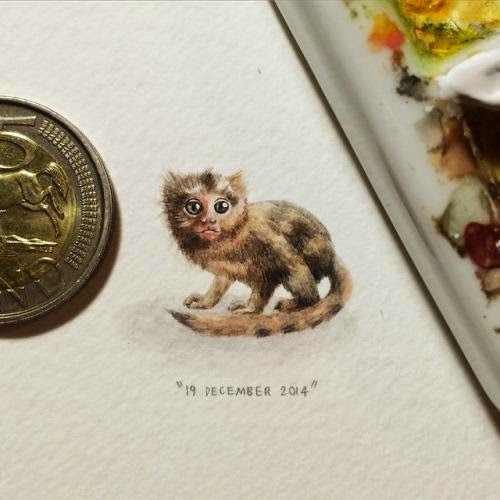 03-Common-Marmoset-Lorraine-Loots-Miniature-Paintings-Commemorating-Special-Occasions-www-designstack-co