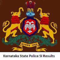 Karnataka State Police SI Results