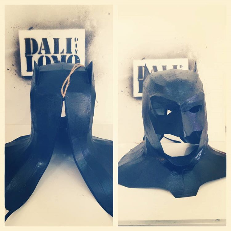 how to make batman mask with cardboard