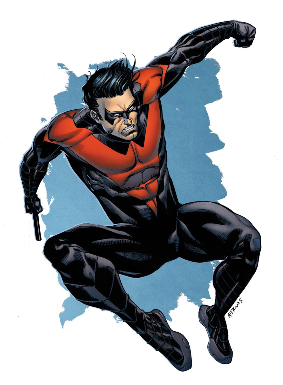 nightwing new 52 coloring pages - photo#29
