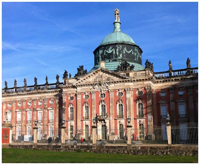 Neues Palais, Parque Sanssouci, Potsdam