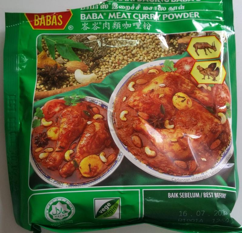 chicken curry recipe using babas curry powder
