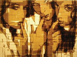 Arte con masking tape arte y reciclados