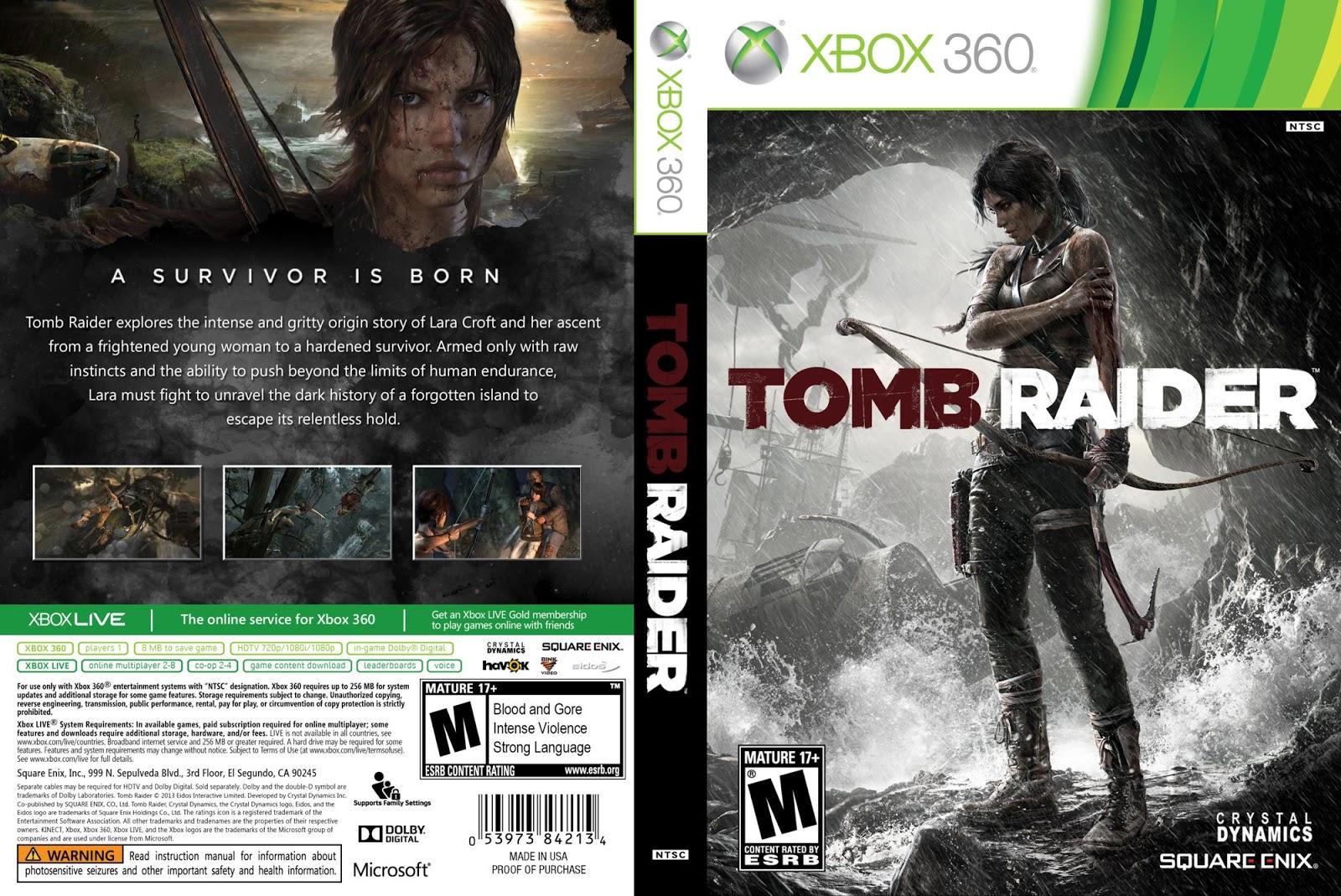 COVER'S AKI: TOMB RAIDER 2013 - XBOX360
