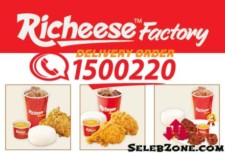 List Harga Menu Richeese Factory Terbaru