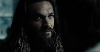 Jason Momoa as Aquaman in Justice League trailer