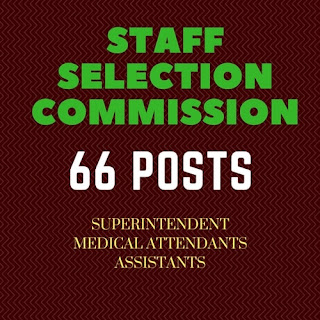 SSCSR Superintendents Medical Attendants