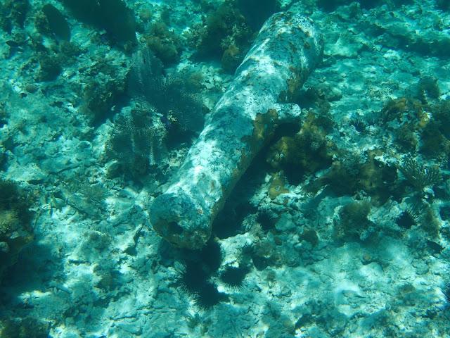 sunken anchor
