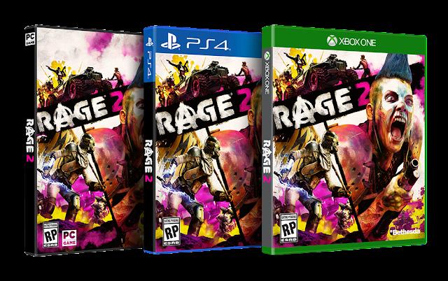 الكشف عن أول تفاصيل لعبة Rage 2 ، عالم مفتوح و المزيد …