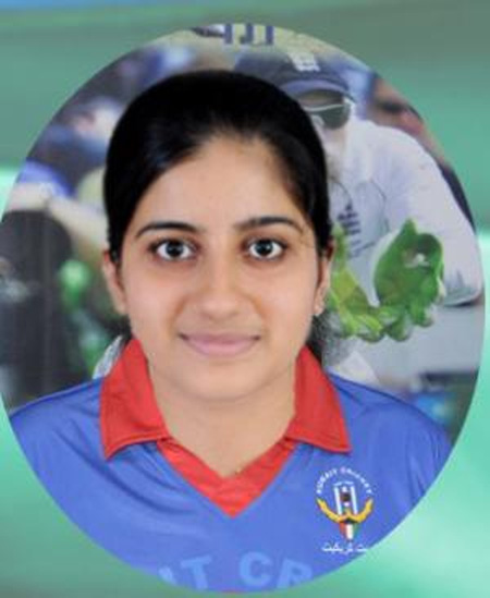 Priyada Murali is participating world cup Kuwait team, Kuwait, Malayalees, Cricket, Gulf, World, Sports
