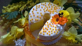 chiffon cake festa della donna