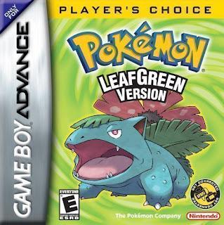 Rom de Pokémon Leaf Green em PT-BR - GBA - Download