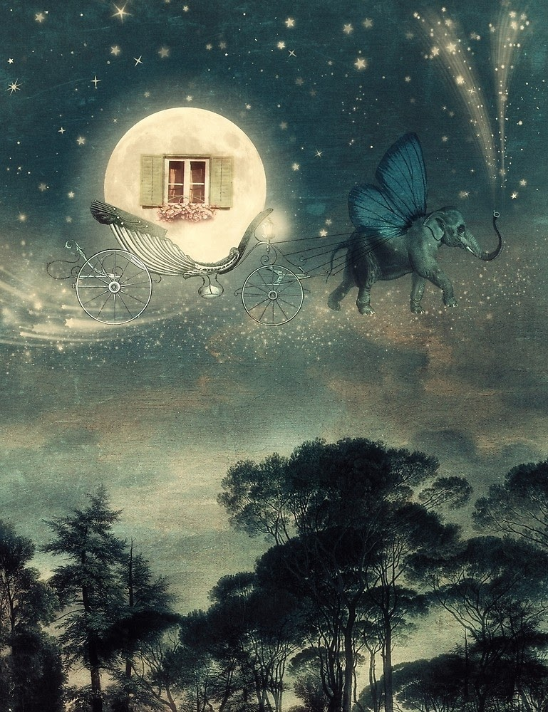 07-If-Moon-Would-Travel-Paula-Belle-Flores-Photographic-Illustrations-of-Digital-Surrealism-www-designstack-co