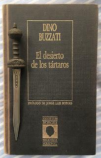 Portada del libro El desierto de los tártaros, de Dino Buzzati