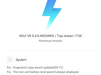 Update FULL ROM Global Stabil V9.5.4.0 Redmi 5 Plus