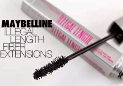 Maybelline illegal length fiber extensions