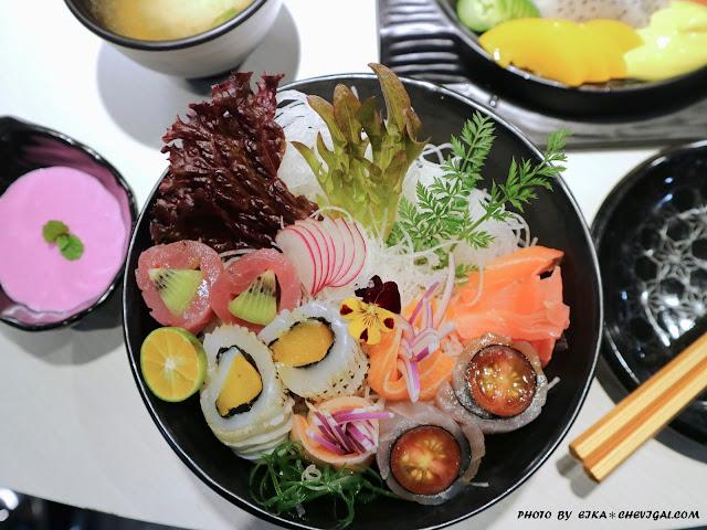 IMG 1477 - 熱血採訪│鯣口鮮板前料理/壽司/外帶,繽紛水果與日式料理結合的創意美食,帶給味蕾不同的驚喜!