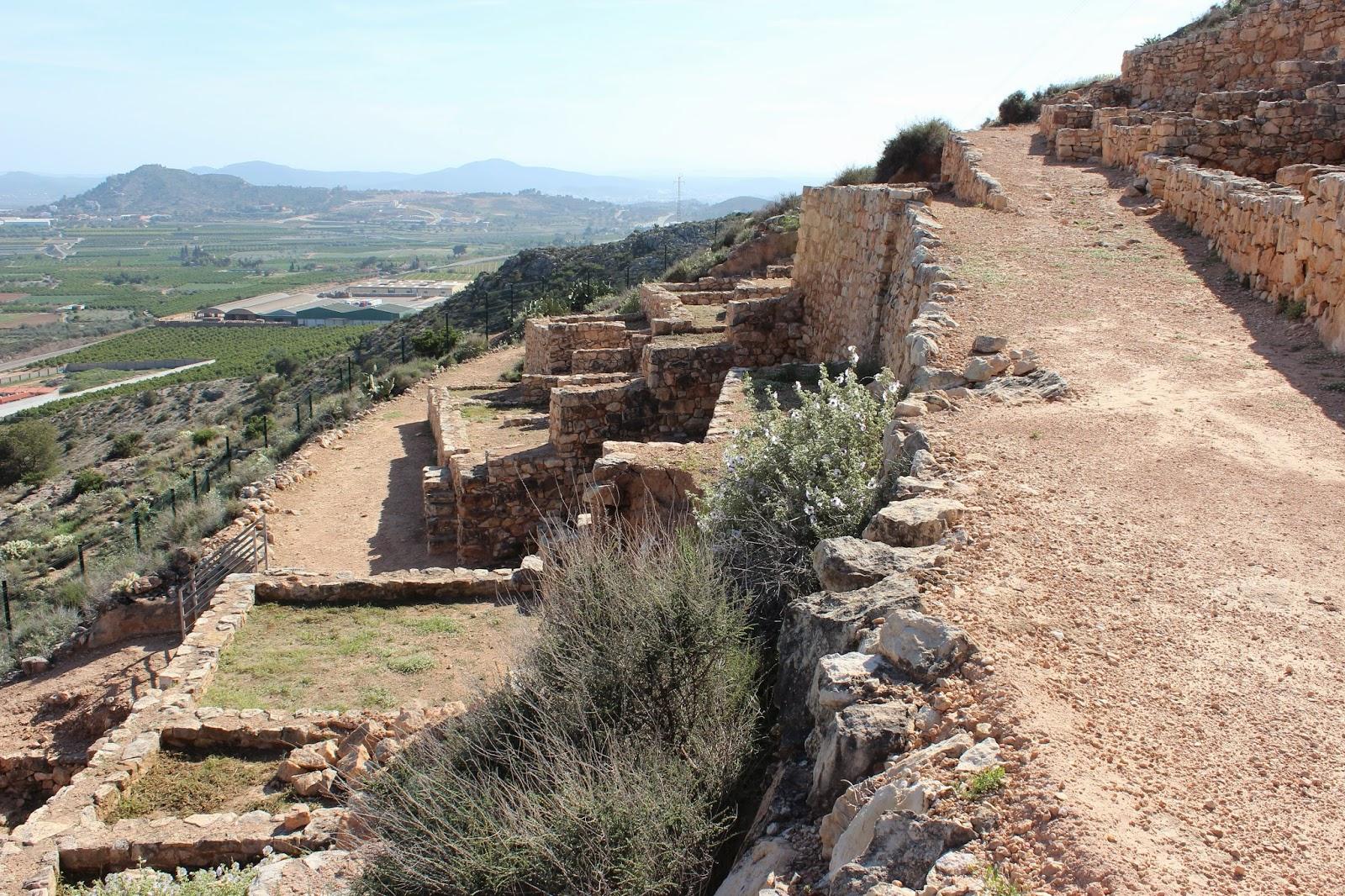 Yacimiento de Edeta en Liria (Valencia)