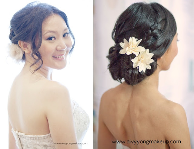 bridal hair by aivy yong