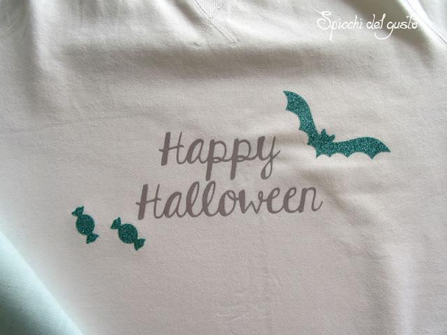 Maglietta per halloween fai da te