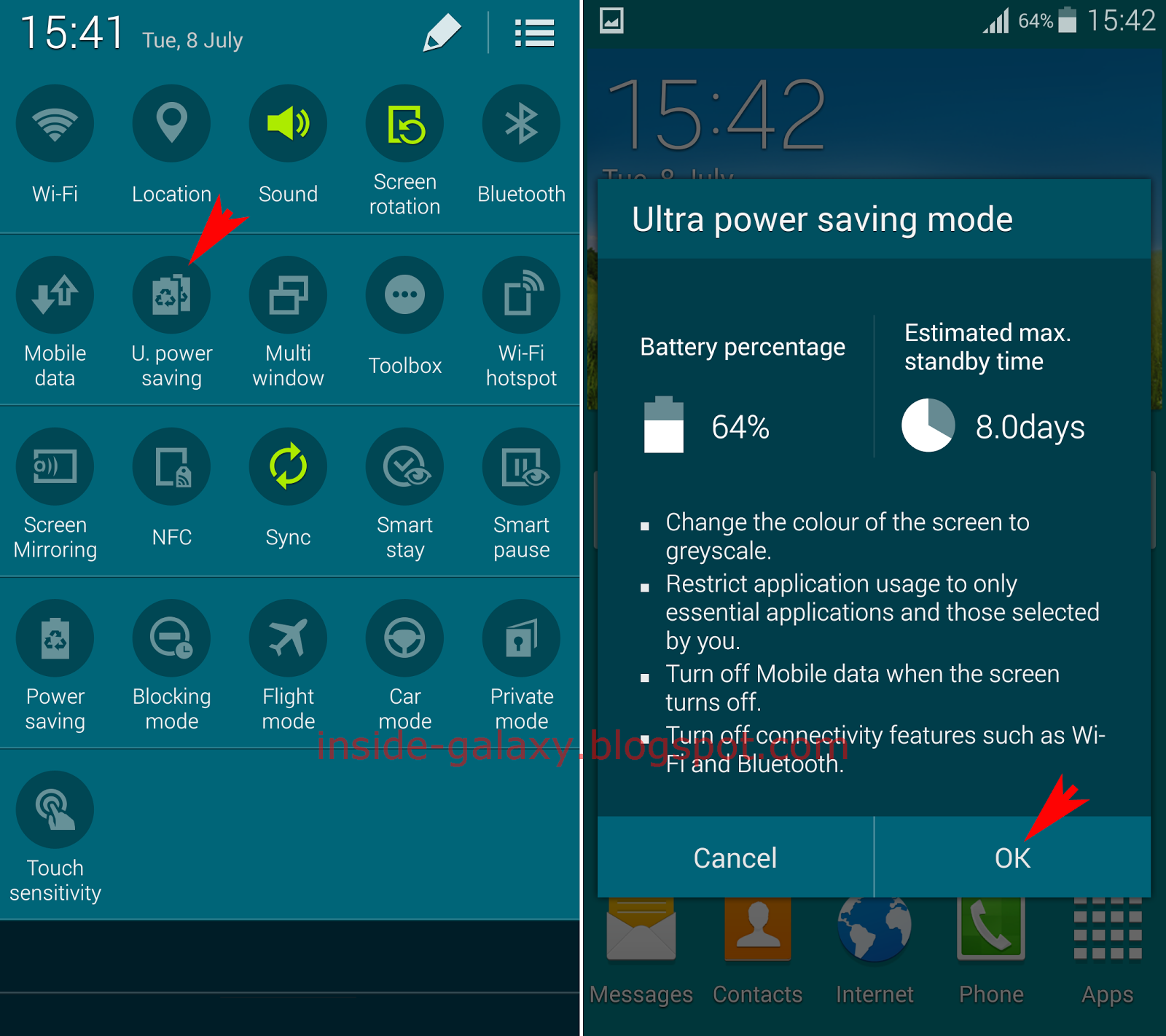 Inside Galaxy: Samsung Galaxy S5: How To Enable, Use And