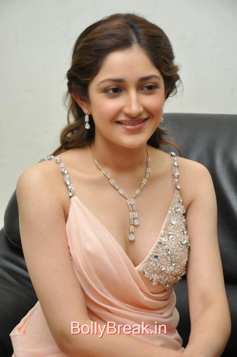 Sayesha Saigal Unseen Stills, Sayesha Saigal Hot Pics from Akhil New Movie Launch Function