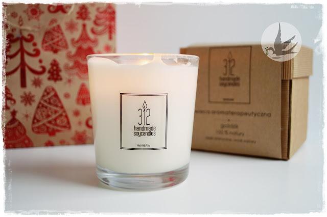 Recenzja świecy do masażu polskiej marki 312 o zapachu goździk