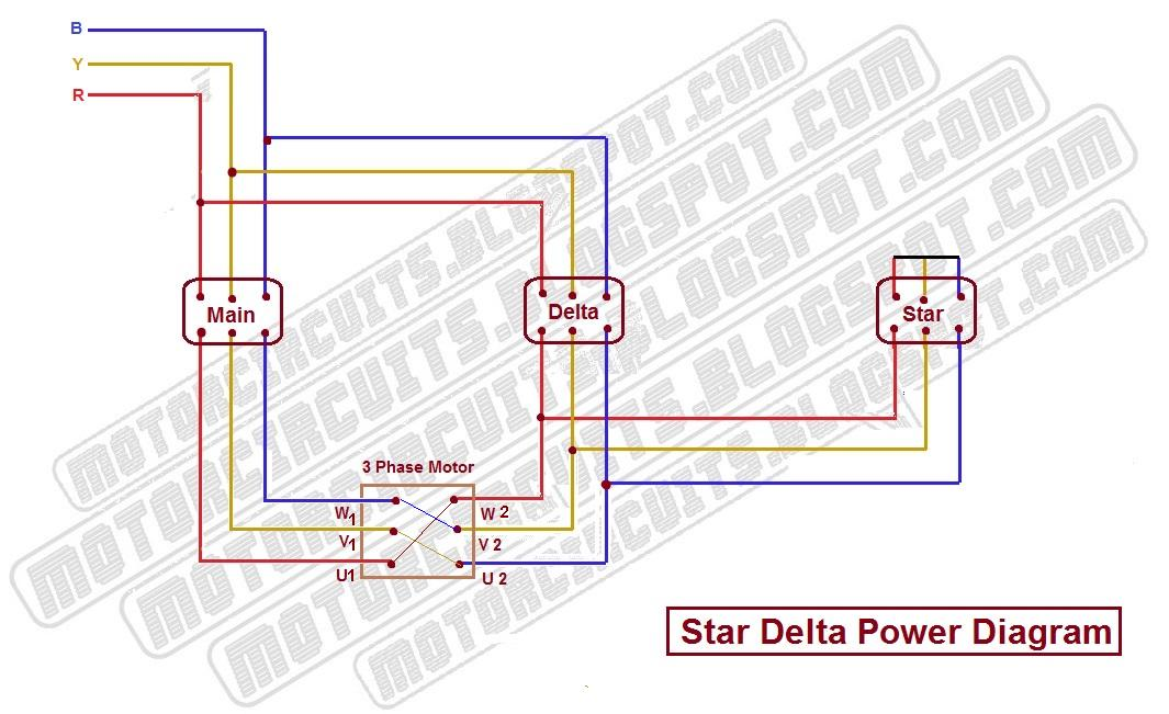 Star Delta Starter - Motor Control - With