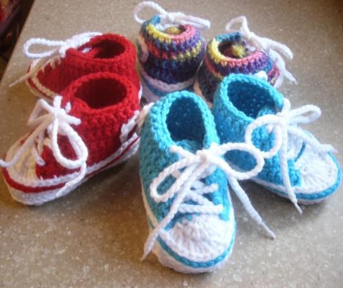 Baby Converse - Free Pattern
