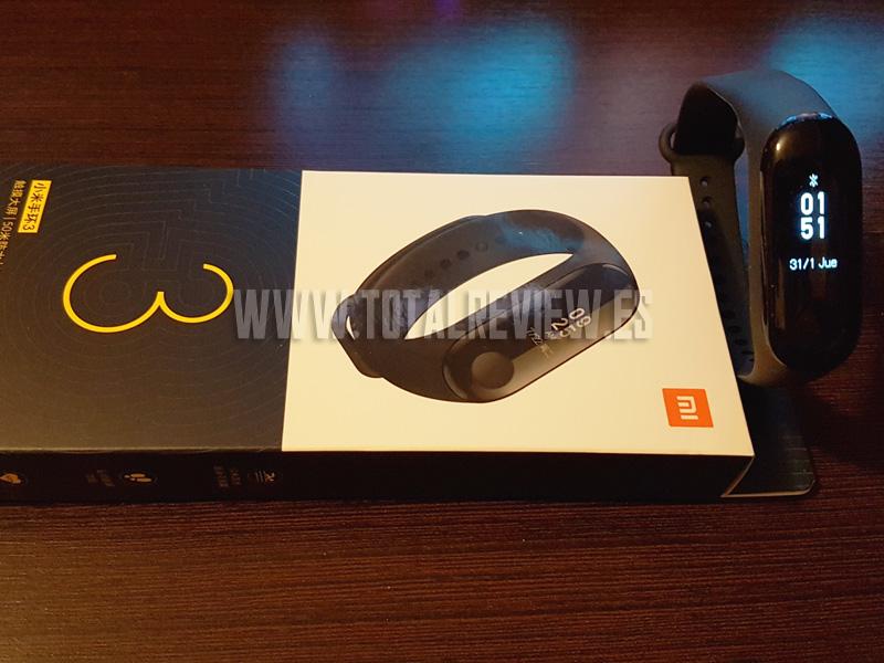 Xiaomi Mi Band 3 de Amazon: características y review