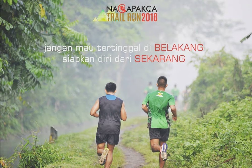 Poster Nagapakca Trail Run • 2018